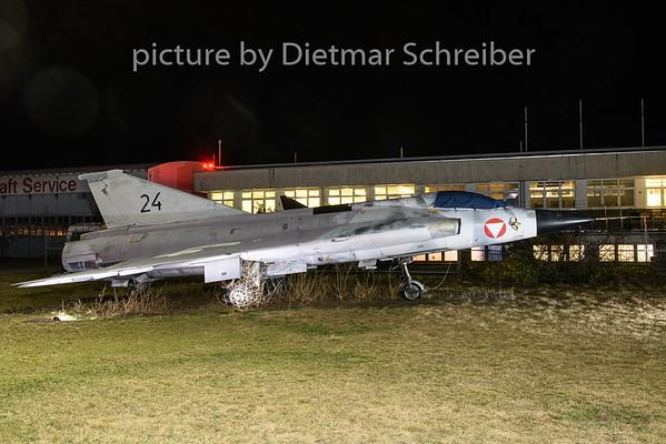 2019-03-08 35393/24 Saab Draken Austrian Air Force