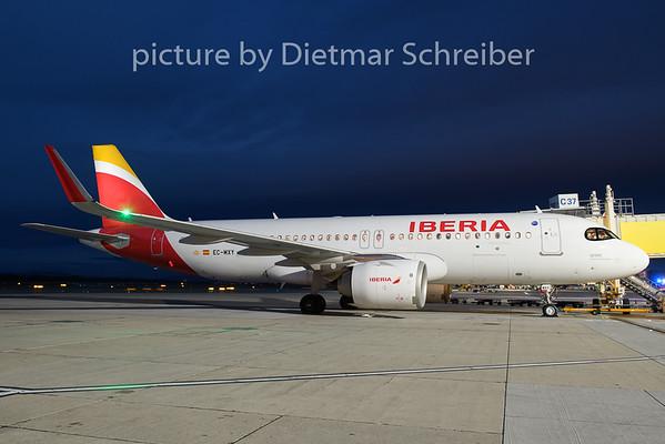 2018-12-28 EC-MXY Airbus A320neo Iberia