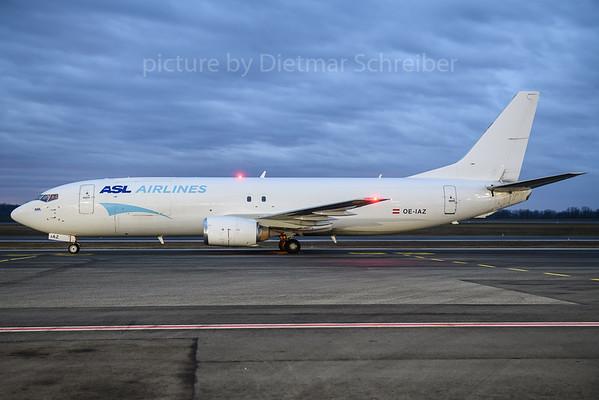 2017-12-14 OE-IAZ Boeing 737-400 ASL Airlines