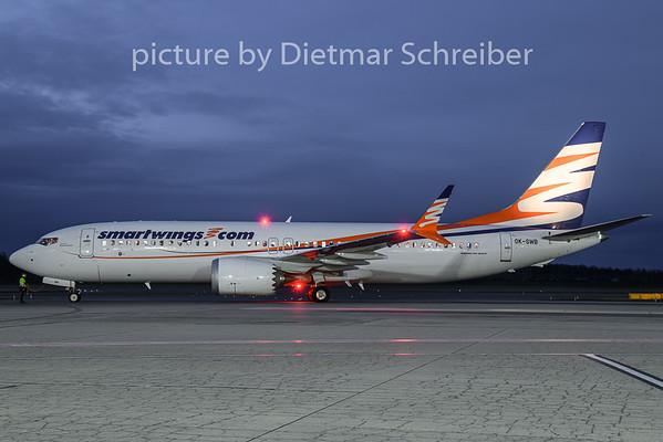 2018-12-28 OK-SWB Boeing 737-800Max Smartwings