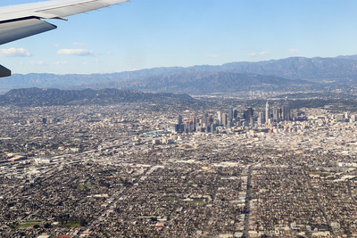 Greater Los Angeles area from the air