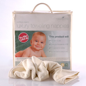 Organic Cotton Nappies