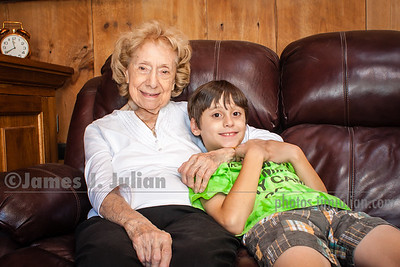 Rocco and Grandma Lee