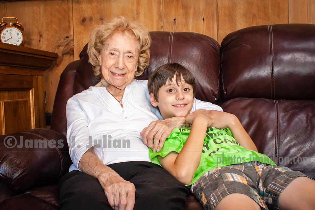 Rocco and Grandma Lee