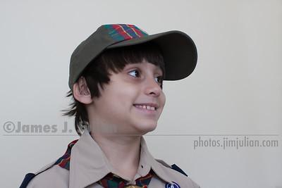 Rocco in Uniform for the Centennial Parade 1