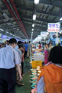 fish market in Korea