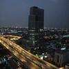 moonset over Bangkok