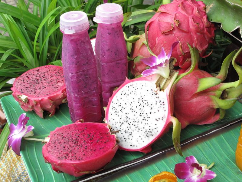 dragon fruit smoothy