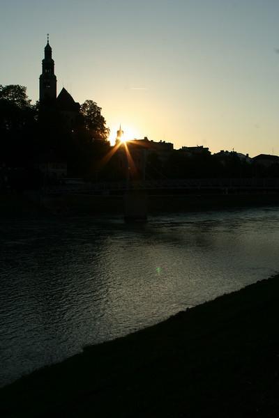 salzburg sunset