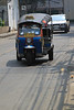 tuk tuk in motion