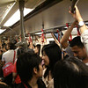 crowded sky train