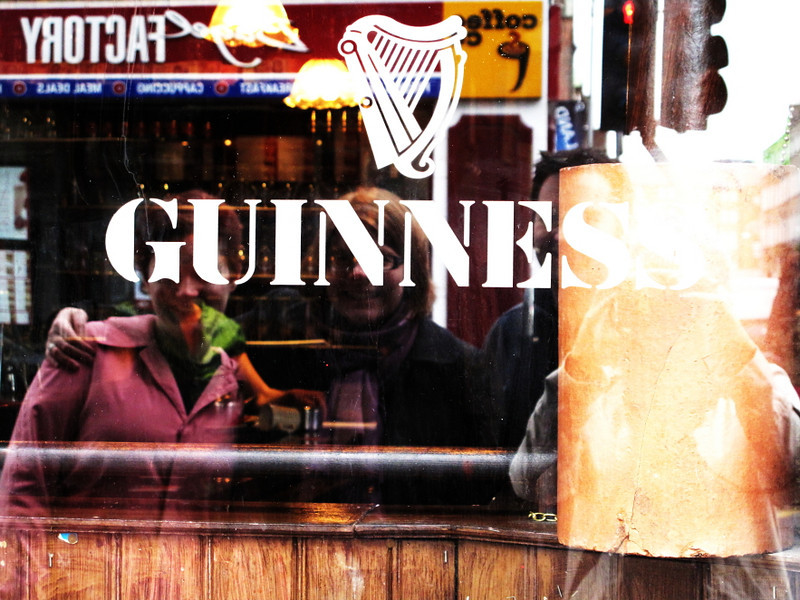 guinness reflections