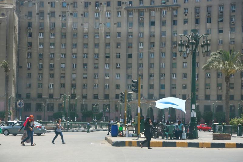 Tahrir Square area