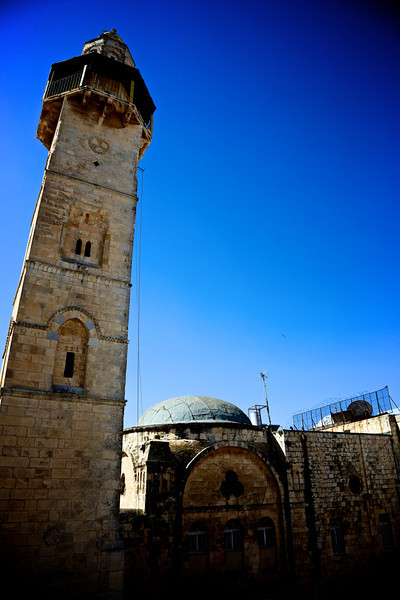 mosque next to the church of the Holy Sepulcher