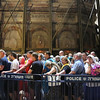 line to see the tomb - predicted at 3 hrs - we didn't wait...