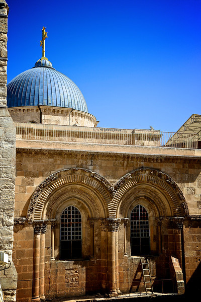 Church of the Holy Sepulcher - status quo ladder