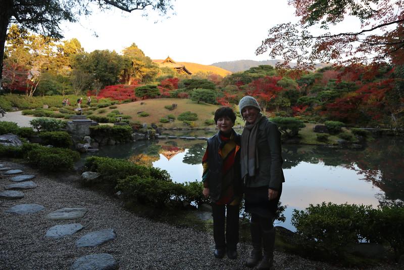 With Yoneko (Kitty) my amazing tour guide