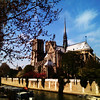 sunny day in Paris