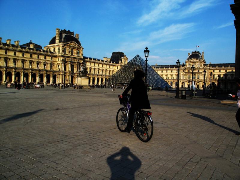 shadow bike louvre