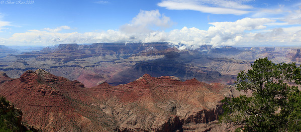 Grand Canyon. 4 vertical shot pano.