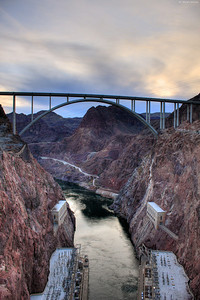 Hoover dam. Removed some of the wires.