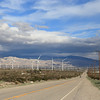 Wind farm at Palmdale, California