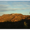 Hollywood sign on Mount Lee.