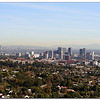Los Angeles view from Getty Center, downtown showing far back.