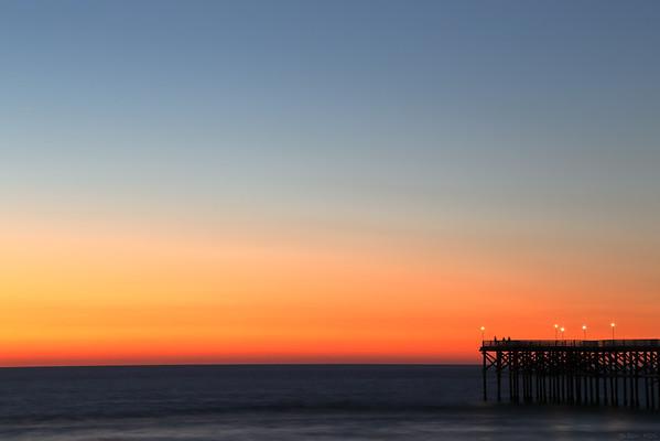 Pacific beach pier, San Diego