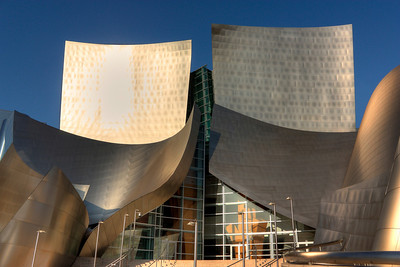 Disney Hall at downtown Los Angeles
