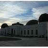 Griffith Observatory in the first morning of 2008