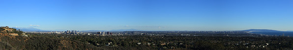 A view from Inspiration point at Pacific Palisade