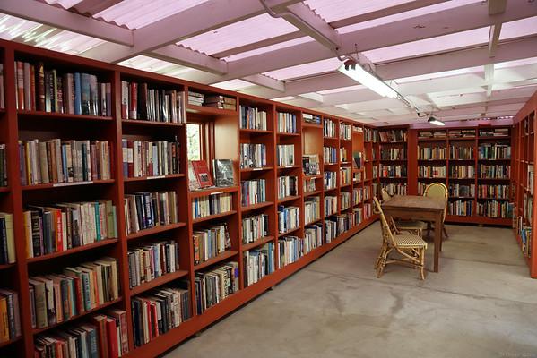 outdoor book store  in Ojai, California