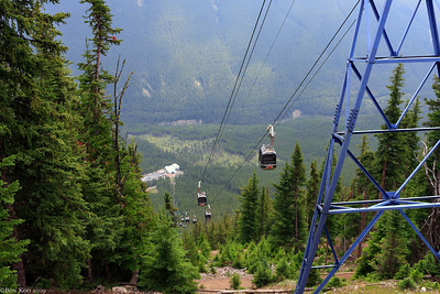 Banff Gondola. It was a long ride.