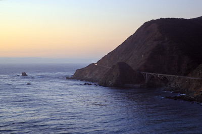 Big Creek Bridge, Big Sur California