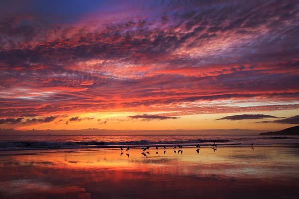 El Capitan state beach, California