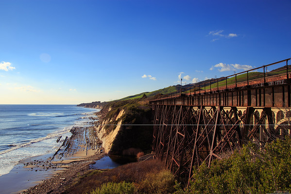 Railroad bridge, Arroyo Hondo