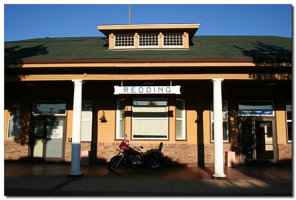 Redding train station