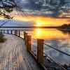 Artipelag Boardwalk Sunset