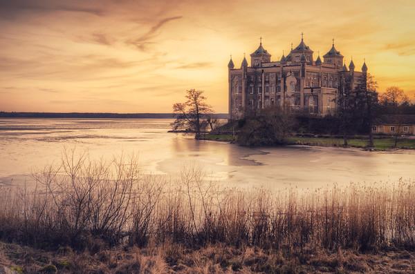 Sundby Castle Sunset