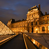 Night at The Louvre