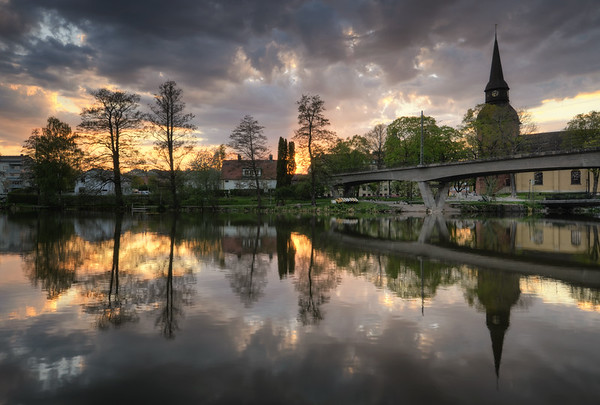 River Church Sunset