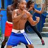 Three Shadow Boxers
