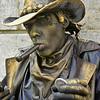 Golden Cowboy in Cuba