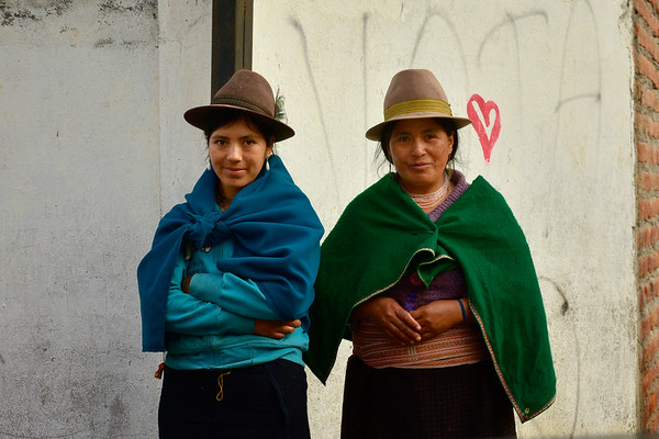 Two local women of Alausi