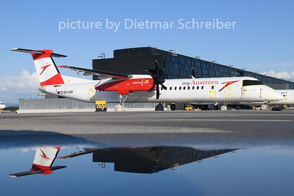 2020-06-03 OE-LGK Dash 8-400  Austrian Airlines