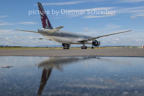 2020-08-23 A7-BEP Boeing 777-300 Qatar Airways