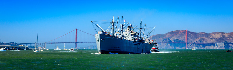 Jeremiah O'Brein in San Francisco Bay
