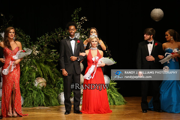 Corinth High's Pageant and Awards 2016