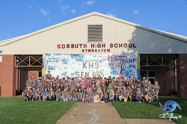 Kossuth's Class of 2K17 First Day